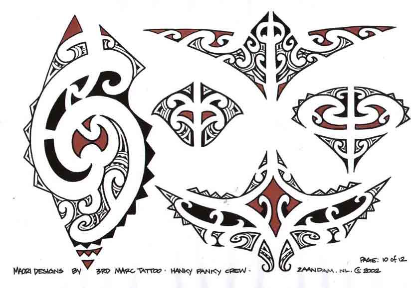 3rd Marc Tattoo Sheet 10