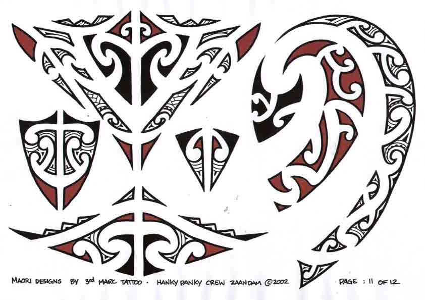 3rd Marc Tattoo Sheet 11