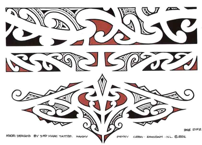 3rd Marc Tattoo Sheet 12