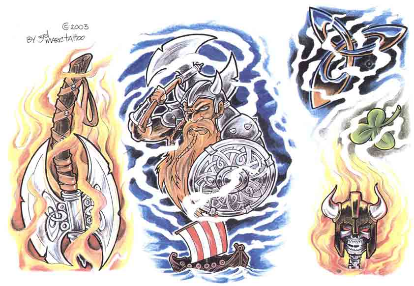 3rd Marc Tattoo Sheet 13