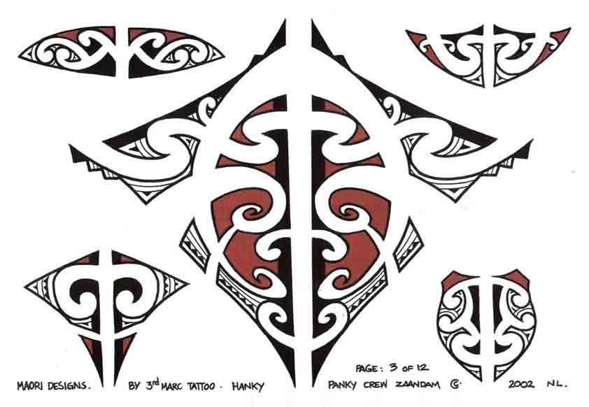 3rd Marc Tattoo Sheet 3