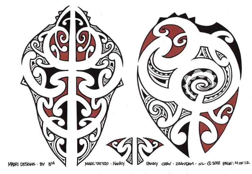 3rd Marc Tattoo Sheet 4