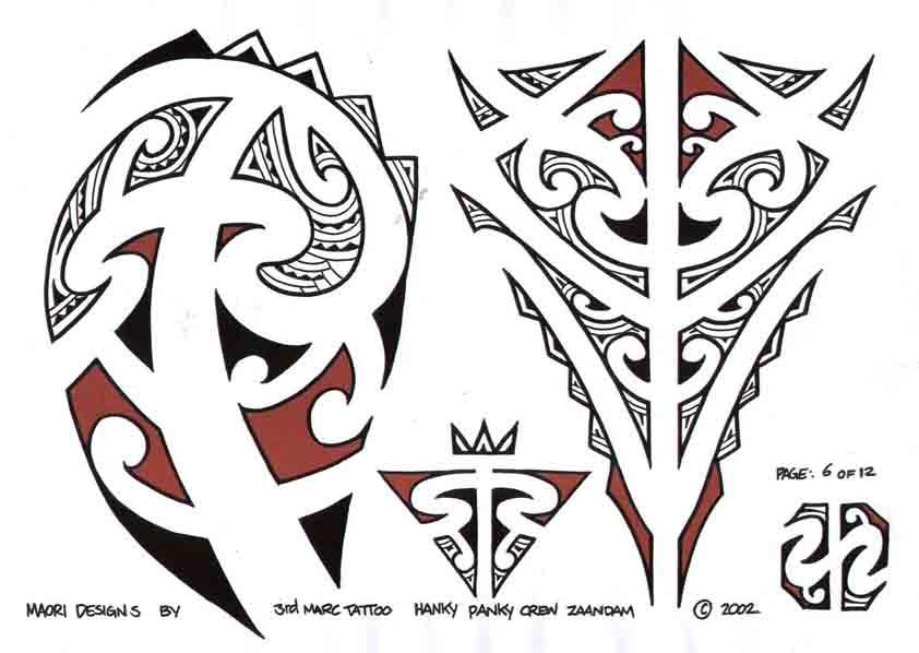 3rd Marc Tattoo Sheet 6