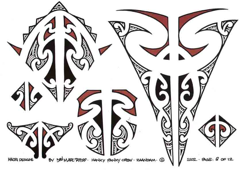 3rd Marc Tattoo Sheet 8