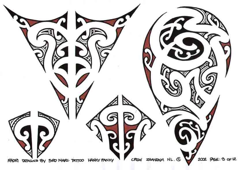 3rd Marc Tattoo Sheet 9