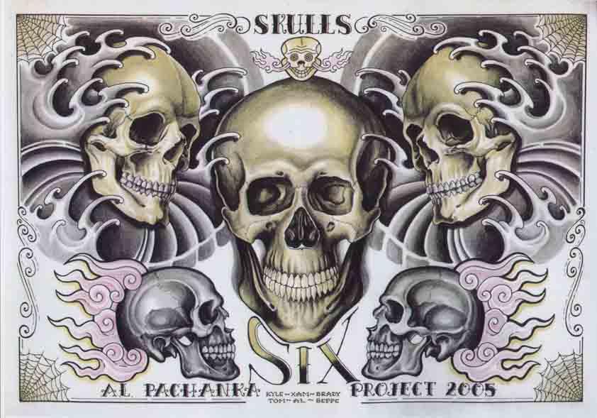 Al Pachanka: Skulls