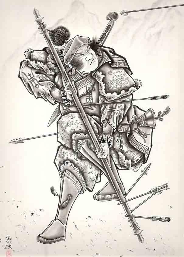 Horiyoshi III: Warriors 106