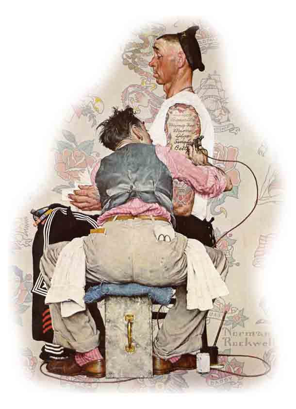 Norman Rockwell: The Tattooist