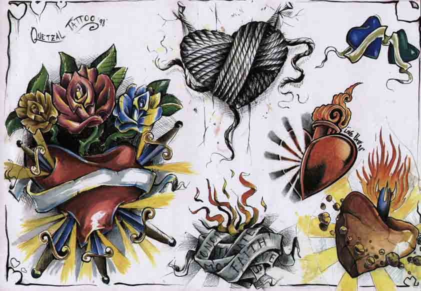 Quetzal: Hearts