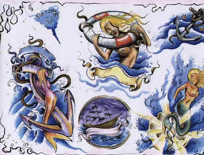 Quetzal: Mermaids
