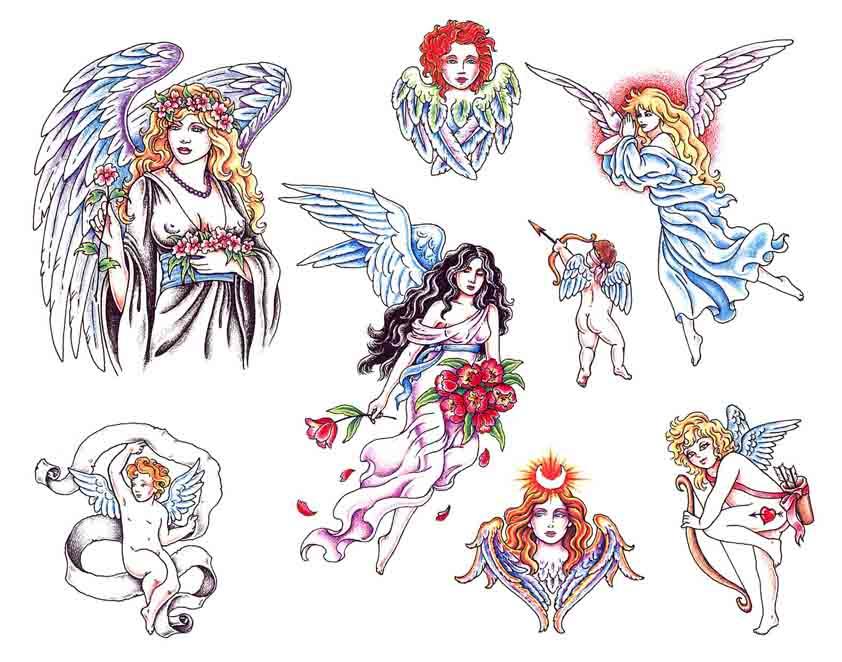 Tattoo Brand: Angel