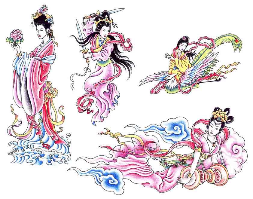 Tattoo Brand: Geisha