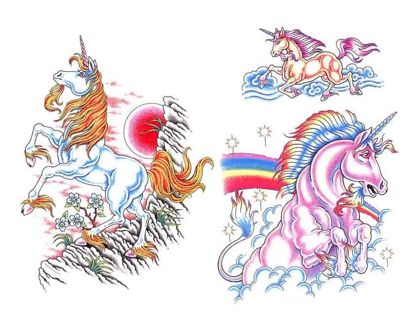 Tattoo Brand: Unicorn