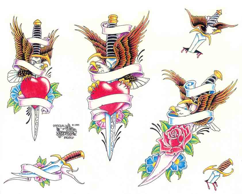 Tattoo Brand: Eagles 2